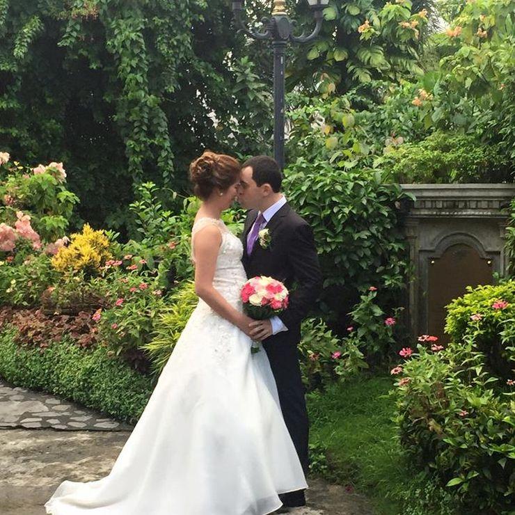 Fernwood Gardens | Catholic Wedding | White - Arroyo Nuptials | 08-01-2015