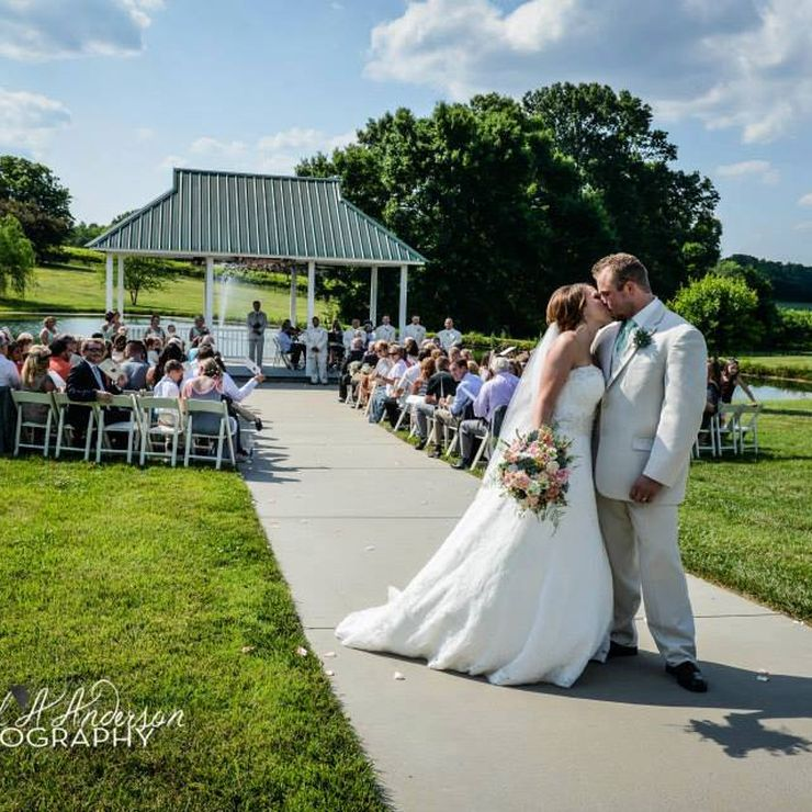 Vows by the Pond & Gazebo