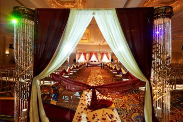 Ethnical wedding ceremony decor