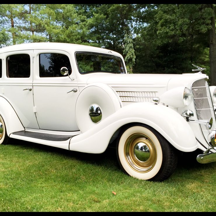 1935 Hudson Terraplane , American Classic Wedding Car
