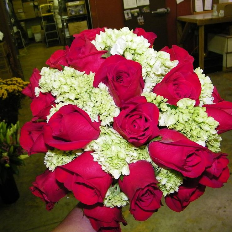 Bouquets with Roses