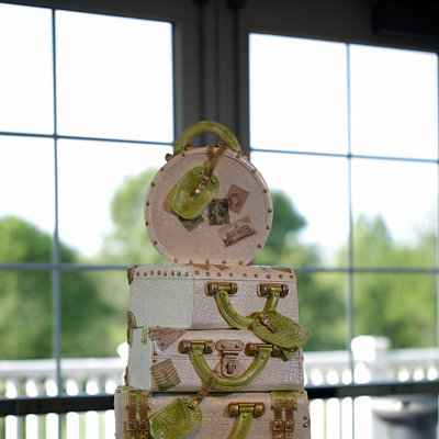 Themed ivory wedding cakes