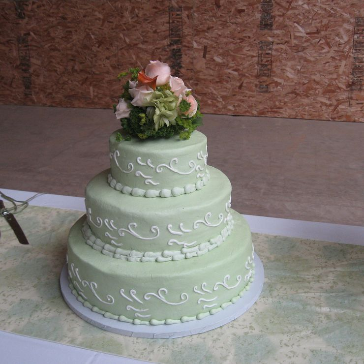 Uniquely Cakes Sage Green