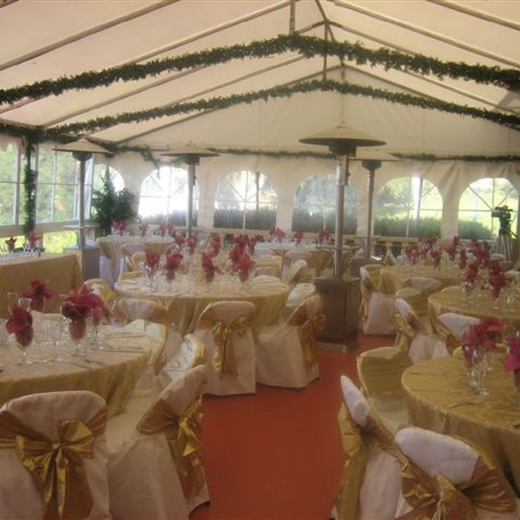 30 x 50 Tent for 125 guests