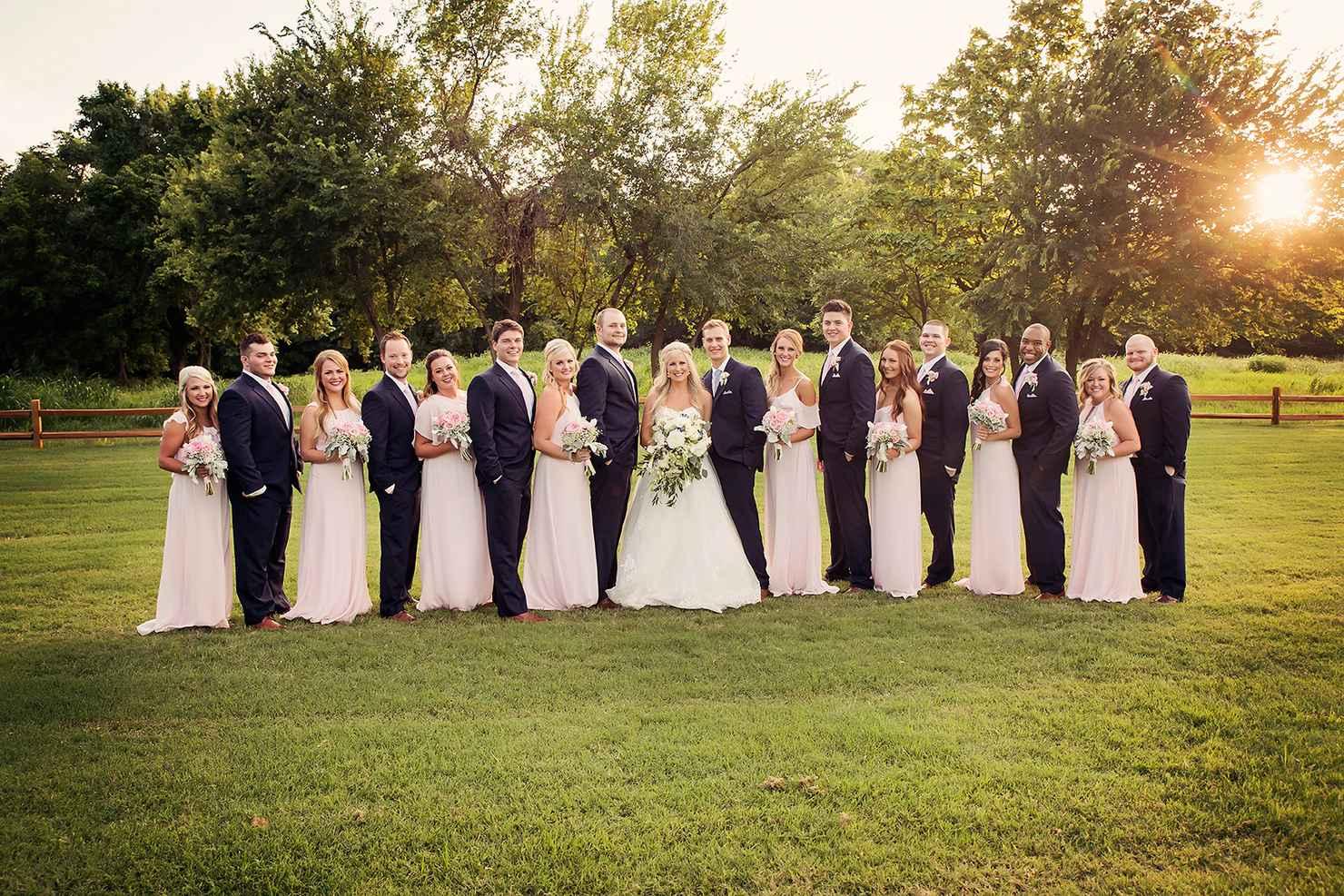 Ivory bridesmaids