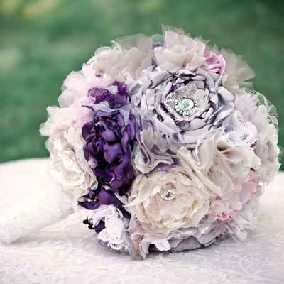 Pink alternative wedding bouquet