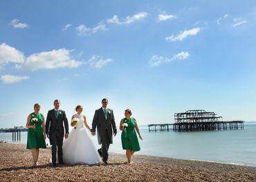 Marine green wedding photo session ideas