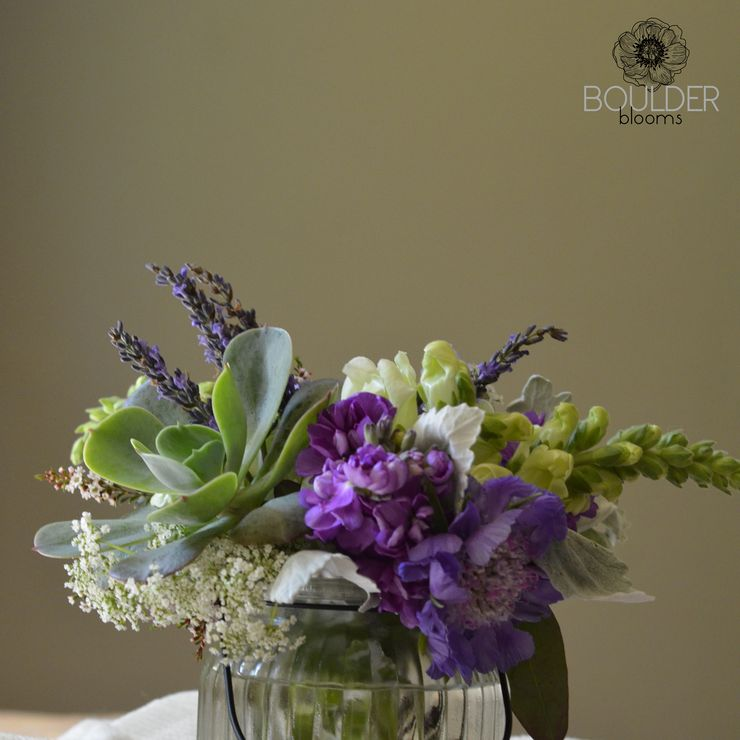 Boulder Blooms Summer 2015 Table Settings