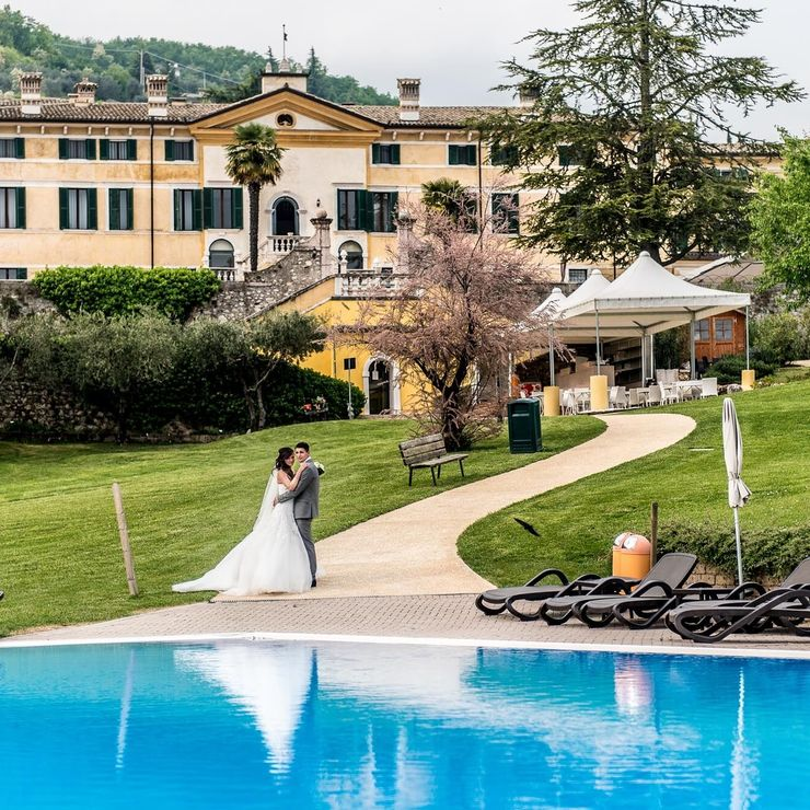 Larissa & Marco Wedding at Villa Cariola