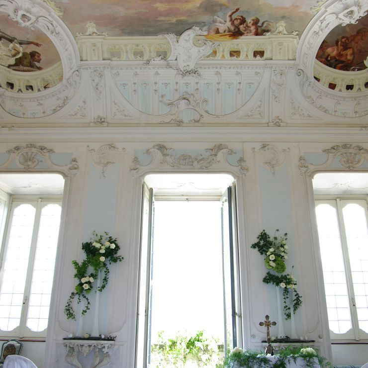 Russian Wedding Lake Como - Villa Sola