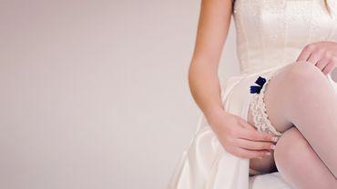 White wedding lingerie