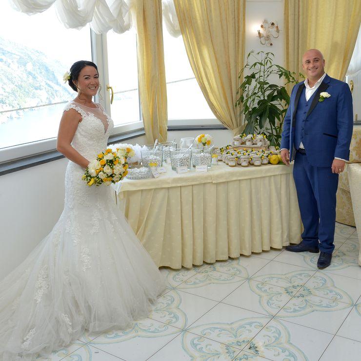 maria gloria and mattheu mariage