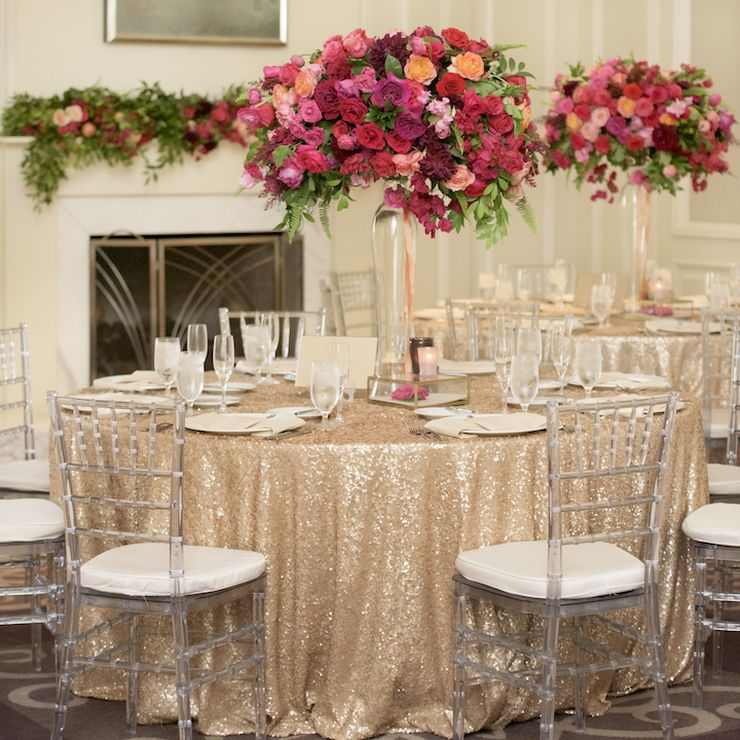 Bright and Glamorous Ritz Carlton Wedding