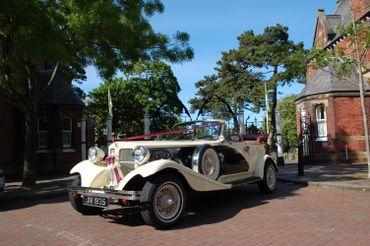 Ivory wedding transport