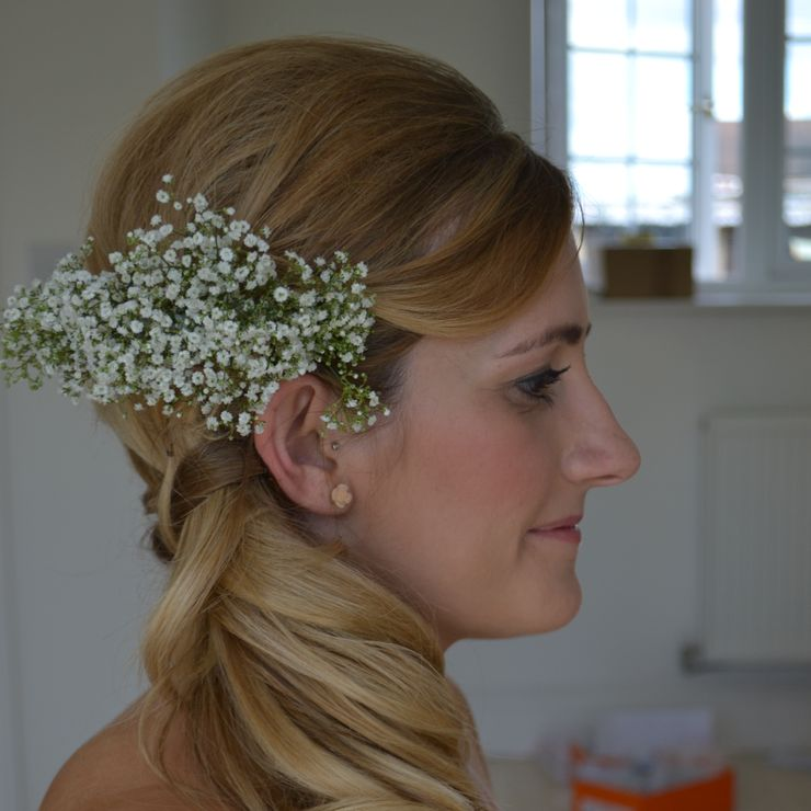 Gloucestershire Wedding hair and Wedding Make-up