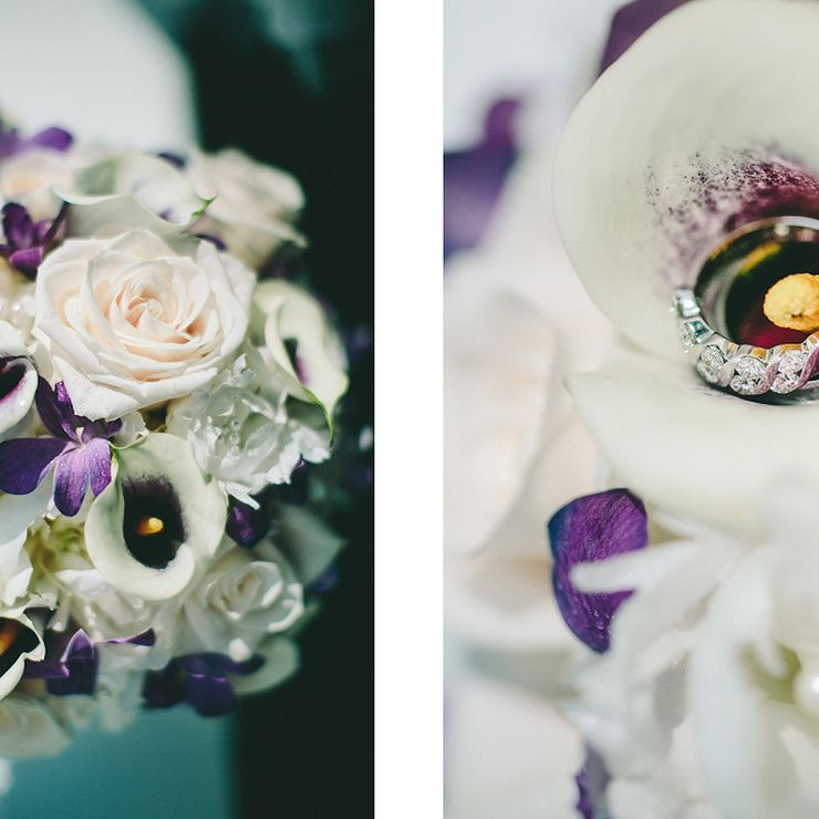 Purple, Lavender Summer Wedding