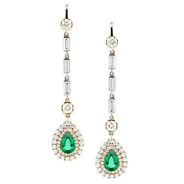 Green bracelets, earrings, necklaces & other jewellery