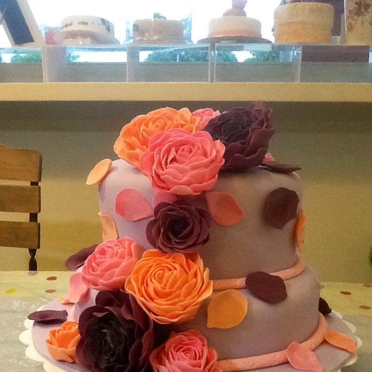 Wedding cakes by shervonecakes