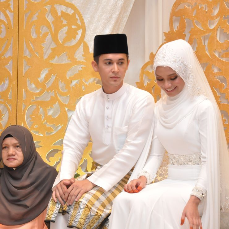 Sam Bunkface & Aida Azira Wedding