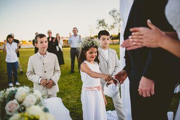 Outdoor kids at wedding