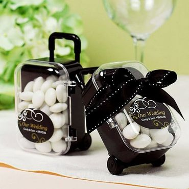 Black wedding favours