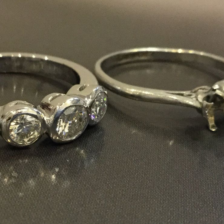 Handmade Bespoke Rings by Tony