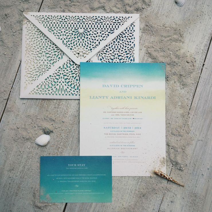 beach wedding - david & lianty
