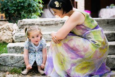 Outdoor bridesmaids