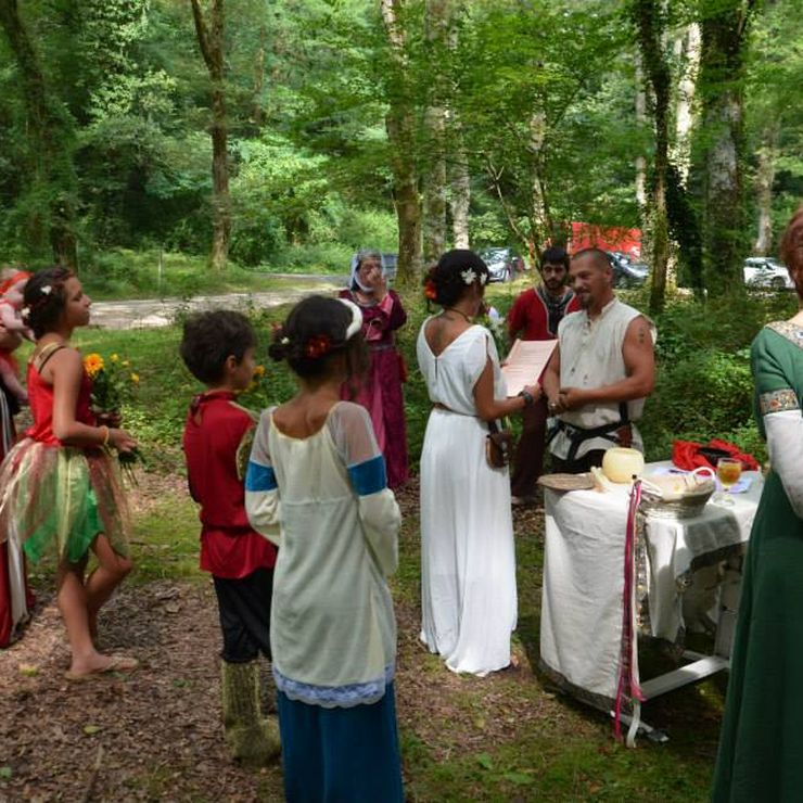 Celtic wedding ceremony - Druidism