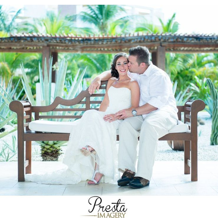 Mexico Destination Wedding & Trash the Dress