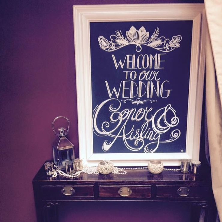 Personalised chalkboards
