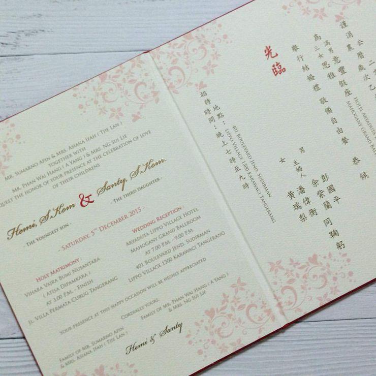 "Hemi & Santy "" Oriental Cheongsam Theme """