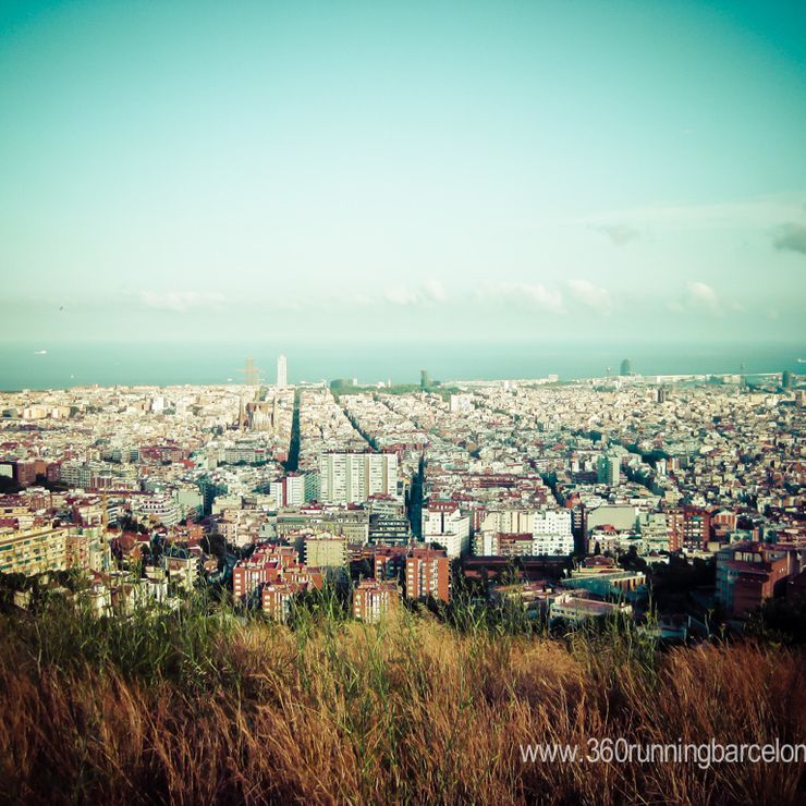 city Running tours in Barcelona