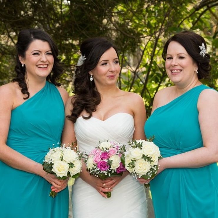 Bridesmaids Hairstyles.