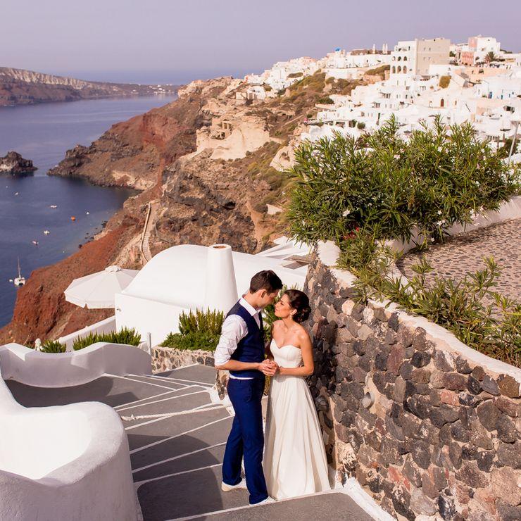 Irina & Andrey - Santorini Greece