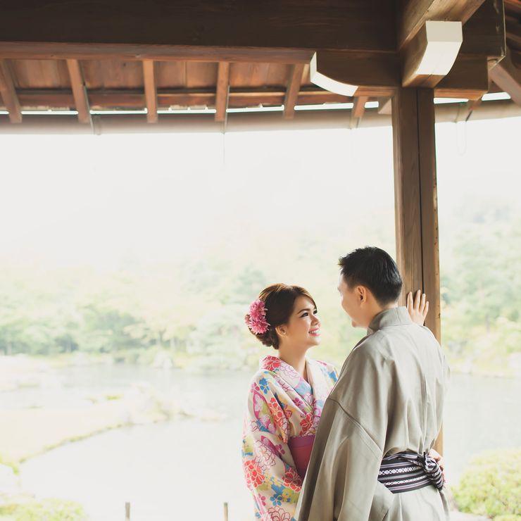 Harry & Kelly - Japan Prewedding by Reygen