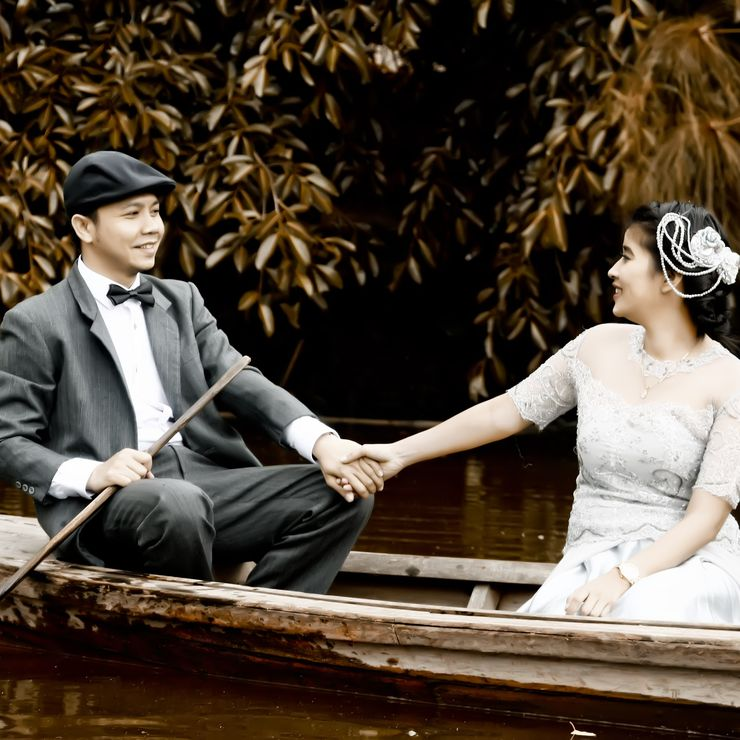 Hikmah and Purwanto Prewedding