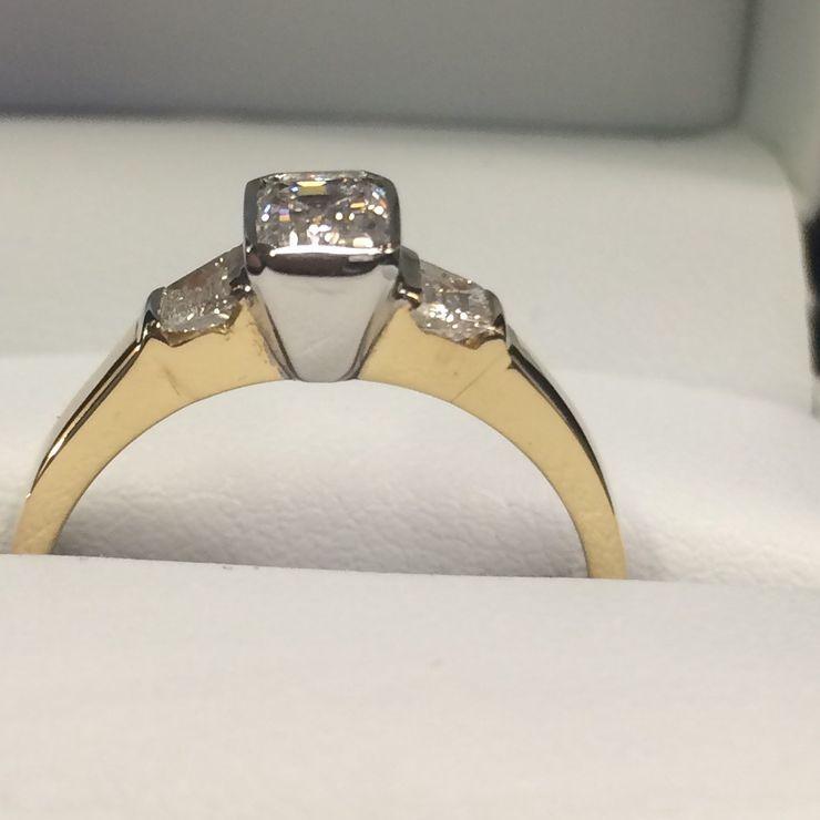 Lorraine's engagement ring