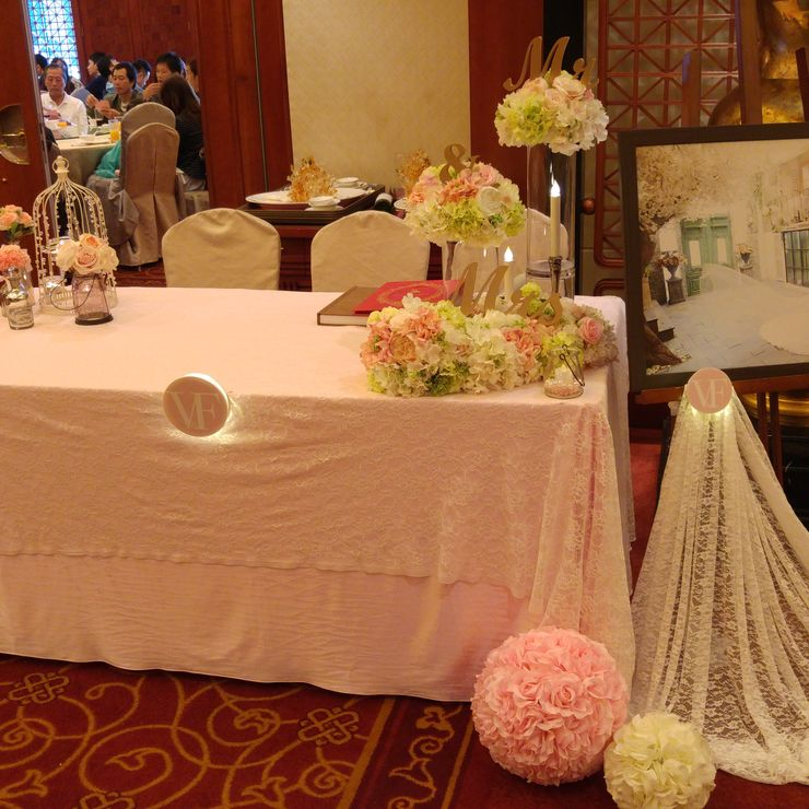 Vivien & Fong Wedding Decoration