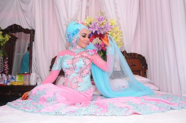 Ethnical blue