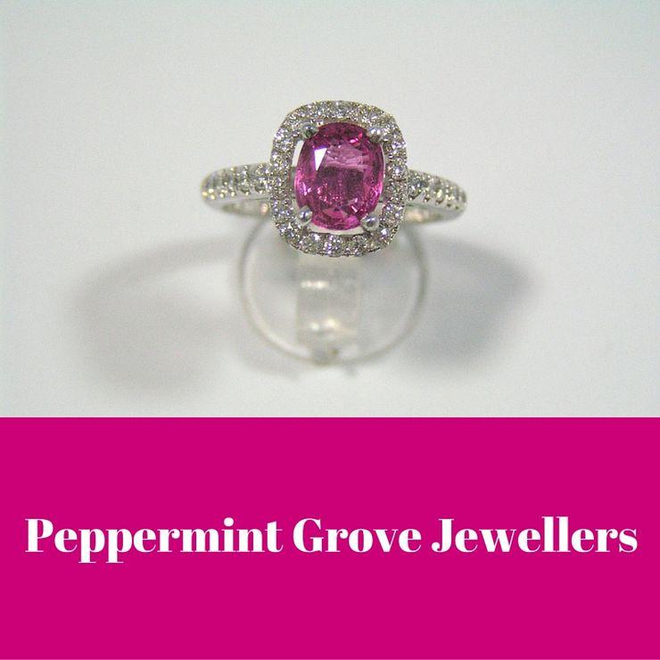 Precious gemstone and diamond rings
