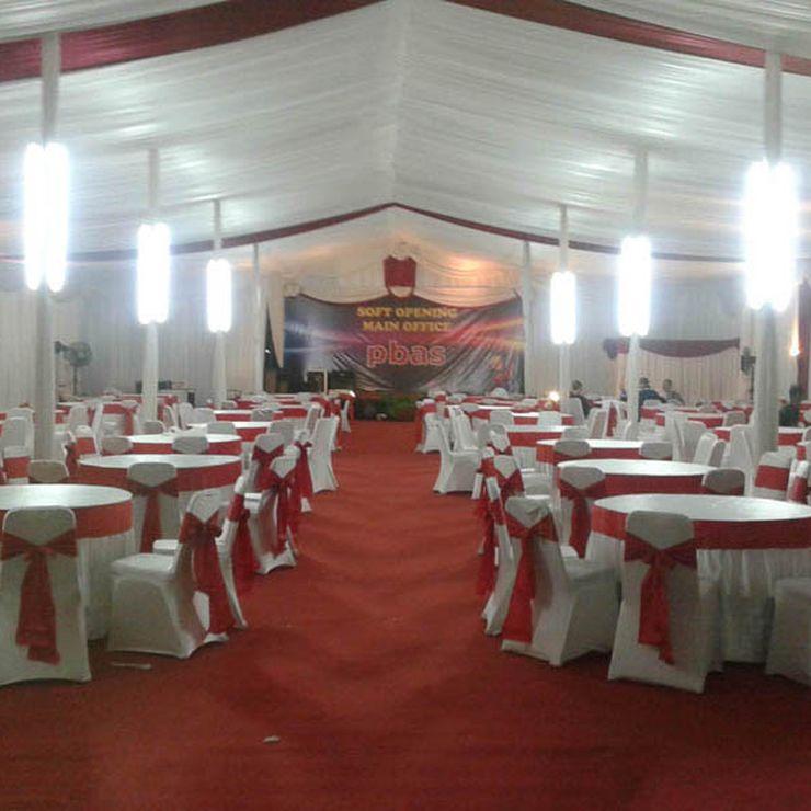 Sewa Tenda Event Peresmian Gedung Pbass Jakarta Selatan (Desember 2014)