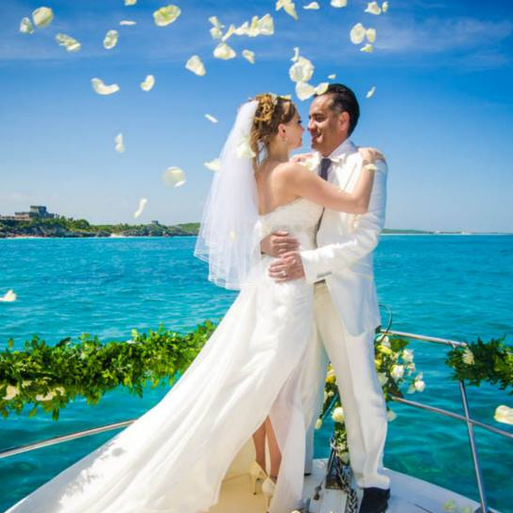 Yacht Wedding Tulum