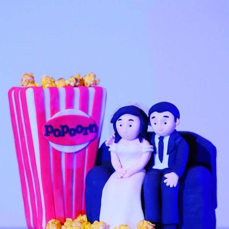 Eli + Joan Nuptials - Theater/Cinema themed