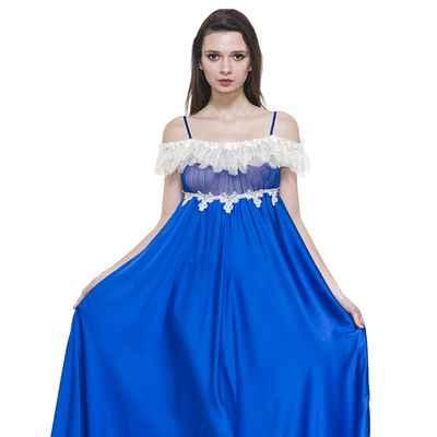 Blue wedding lingerie