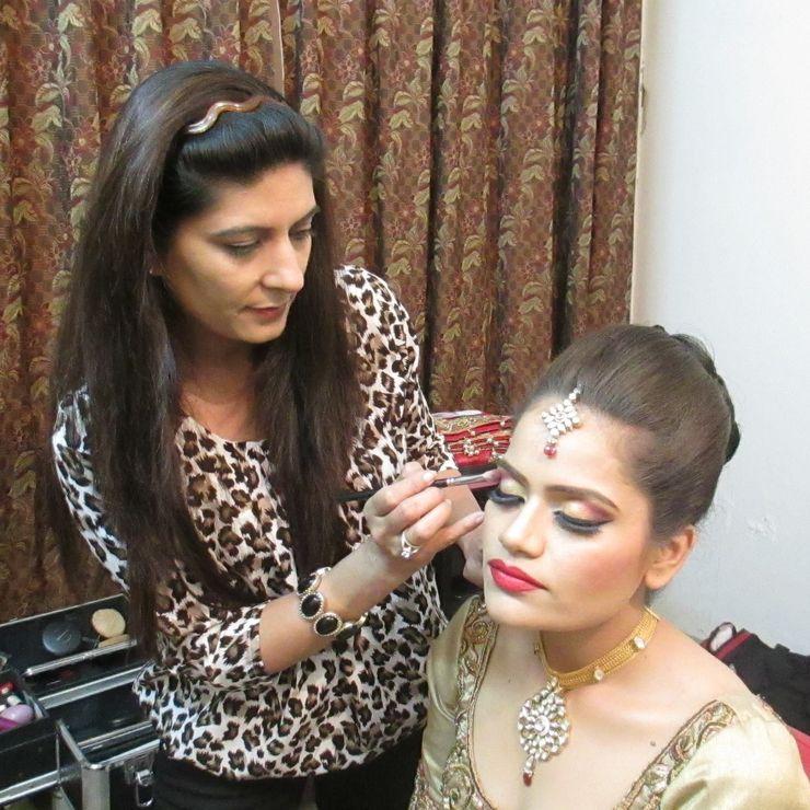 Beautiful bride Sakshi.