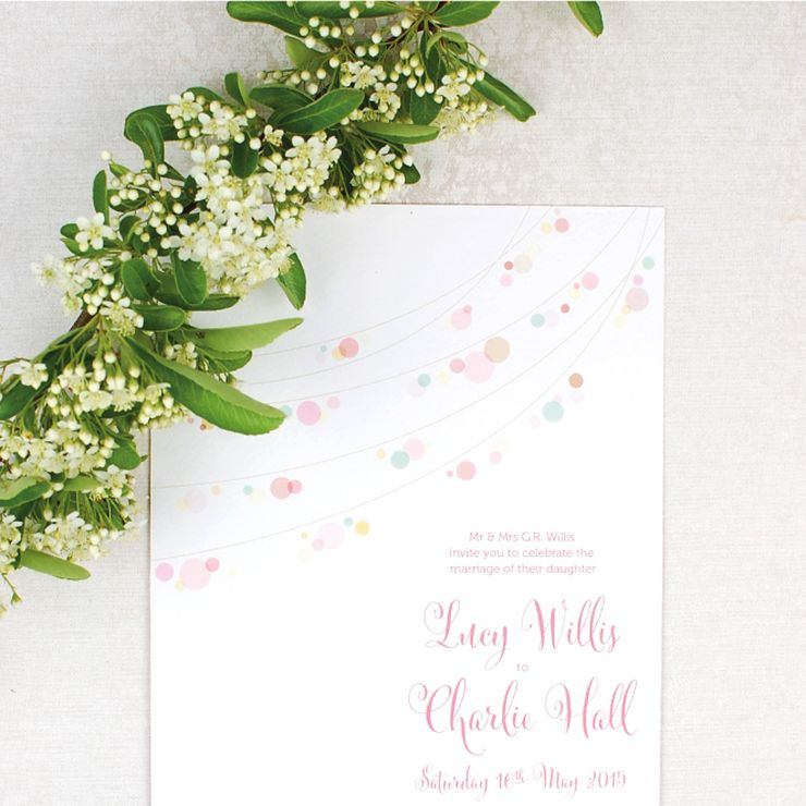 Fairy Lights Invitations