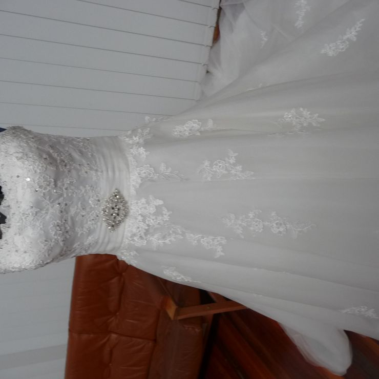 Wedding gowns altered