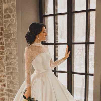 Ivory overseas long wedding dresses