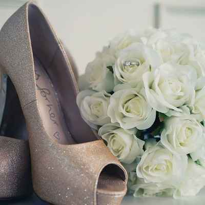 Ivory wedding shoes